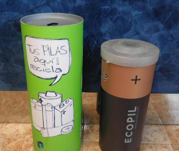 contenedores de pilas de 20Lt